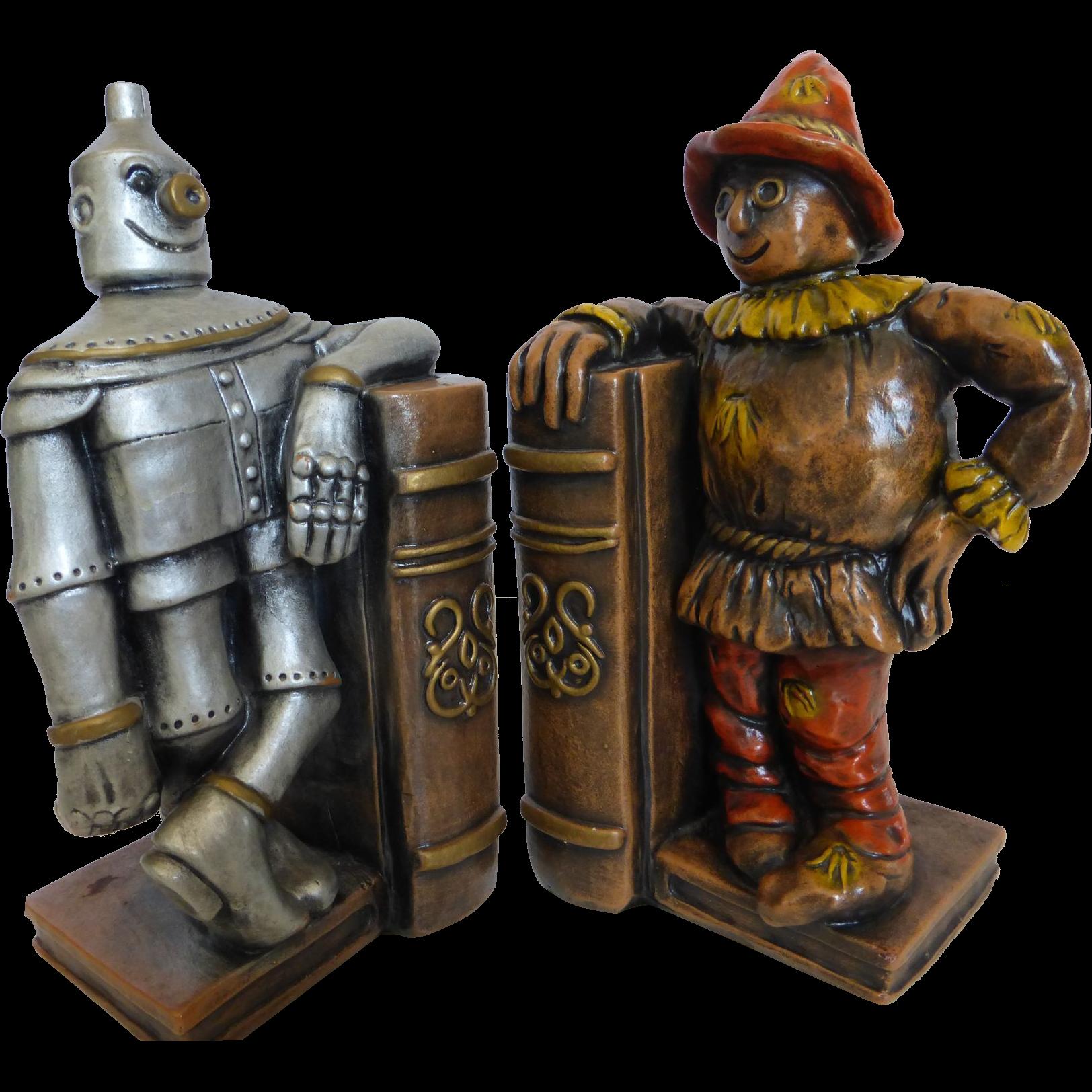 Wizard Of Oz Chalk Ware Bookends Progressive Art Products