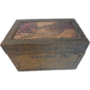 Exceptional Folk Art 'Treasure' Box