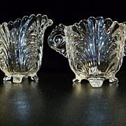 Cambridge Glass Co. Caprice  Sugar and Creamer Set