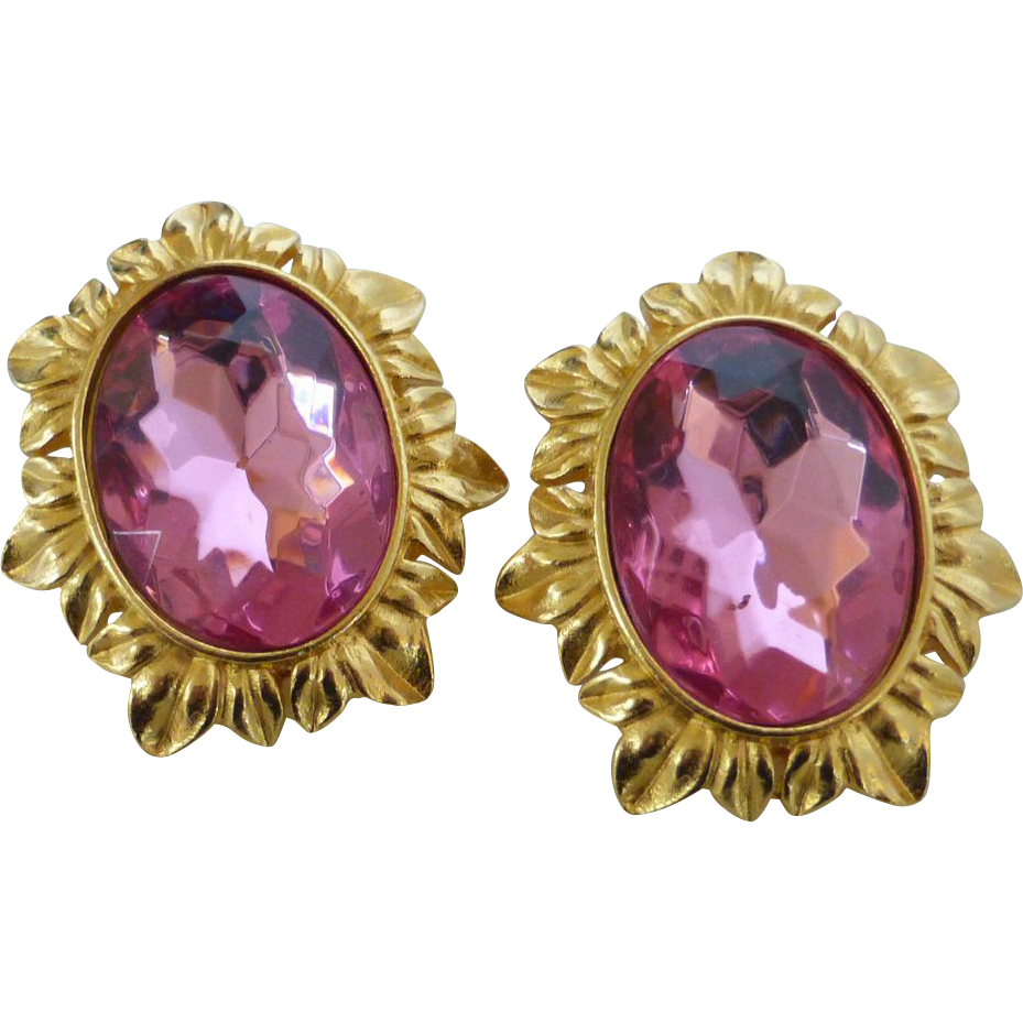 Sensational kunio matsumoto triffari earrings from for Sell gold jewelry seattle