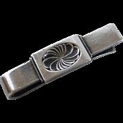 Georg Jensen Sterling Silver Tie Bar Denmark