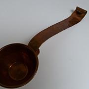 Vintage Copper Sauce Ladle Spoon Mexico