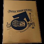 1962 Seattle World's Fair Metal Keepsake Photo Box
