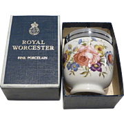 Royal Worcester Egg Coddler Bournemouth King or Double Size in Box