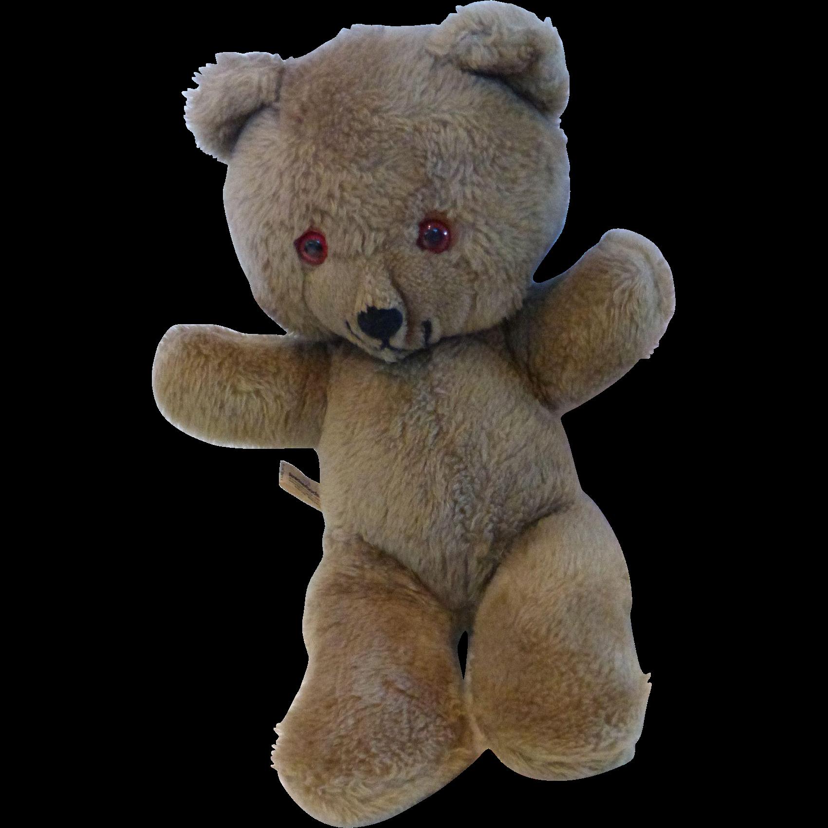 Vintage Knickerbocker Animals of Distinction Teddy Bear ...