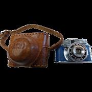 Vintage CMC Mini Spy Camera w Leather Case Made in Japan RARE