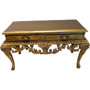 Florentine Boulle Table Jewelry Box