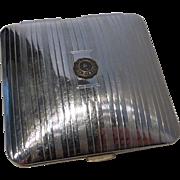 Vintage Smith College Memorabilia Powder Compact by Volupte´