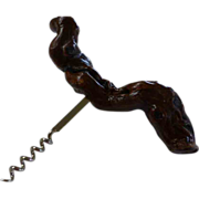Vintage Grape Vine Handle Cork Screw Barware