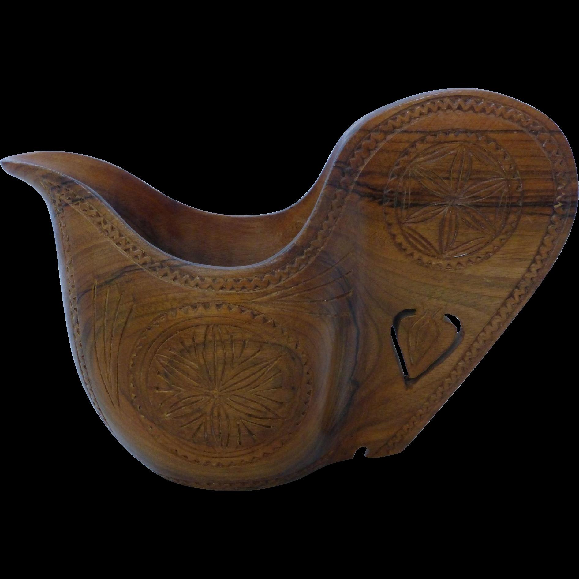 Vintage Carved Wood 36