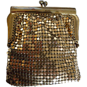 1950s Jorelle of West Germany Metal Mesh Coin Purse