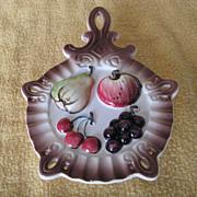 Vintage Fruit Wall Pocket