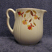 Hall China Autumn Leaf 2-1/2 Pint Utility Jug