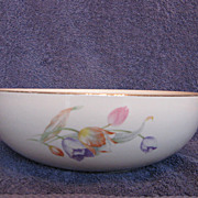 "Hall China Tulip 9"" Salad Bowl"