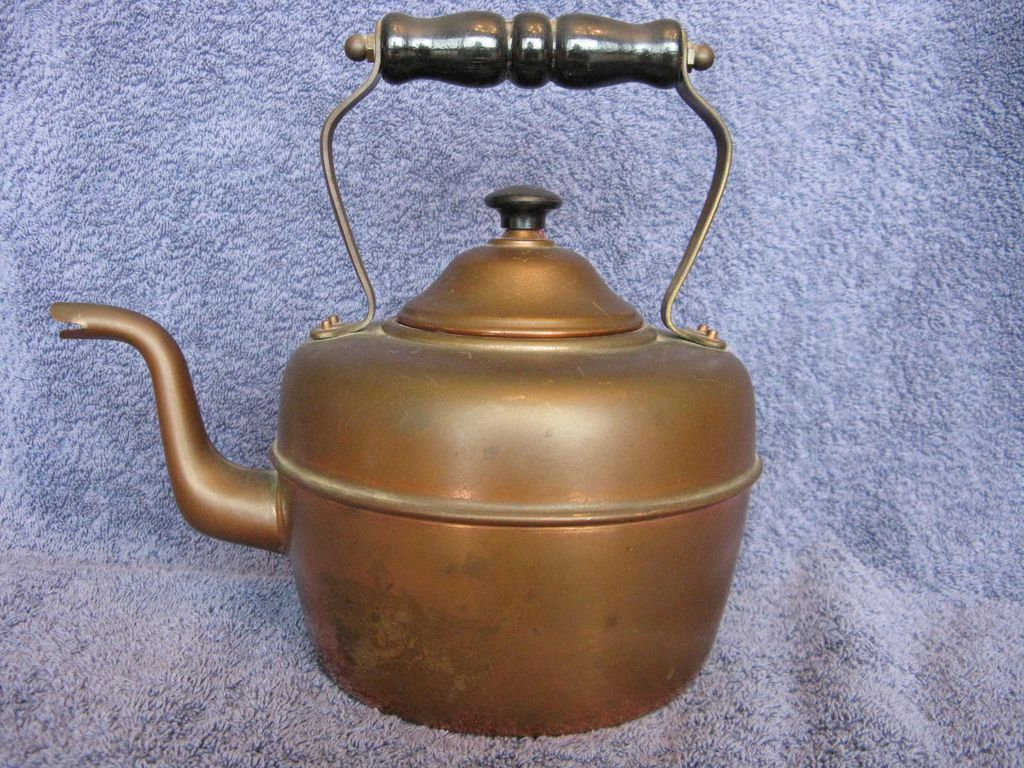 Copper Tea Kettle Made In England