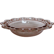 """Depression Glass Old Colony """"Lace Edge"""" Cereal Bowl"""