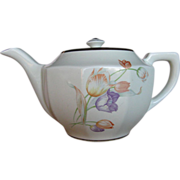 "Hall China Tulip Coffee Pot ""Perk"""