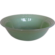 "Fire King Three Bands 8-1/4"" Vegetable Bowl"