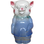 Royal Copley Bow Tie Pig Bank