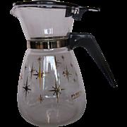 Pyrex 2-cup Atomic Starburst Carafe