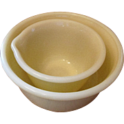 Vintage Hamilton Beach Custard Mixing Bowls