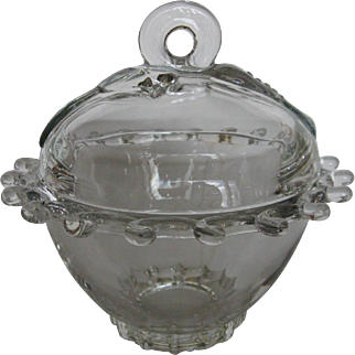 Heisey Glass Lariat Candy Dish