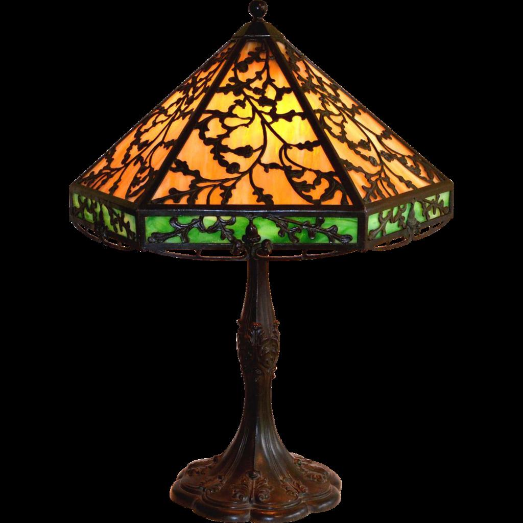 Arts and crafts style slag glass lamp by ja whaley from arts and crafts style slag glass lamp by ja whaley arubaitofo Choice Image
