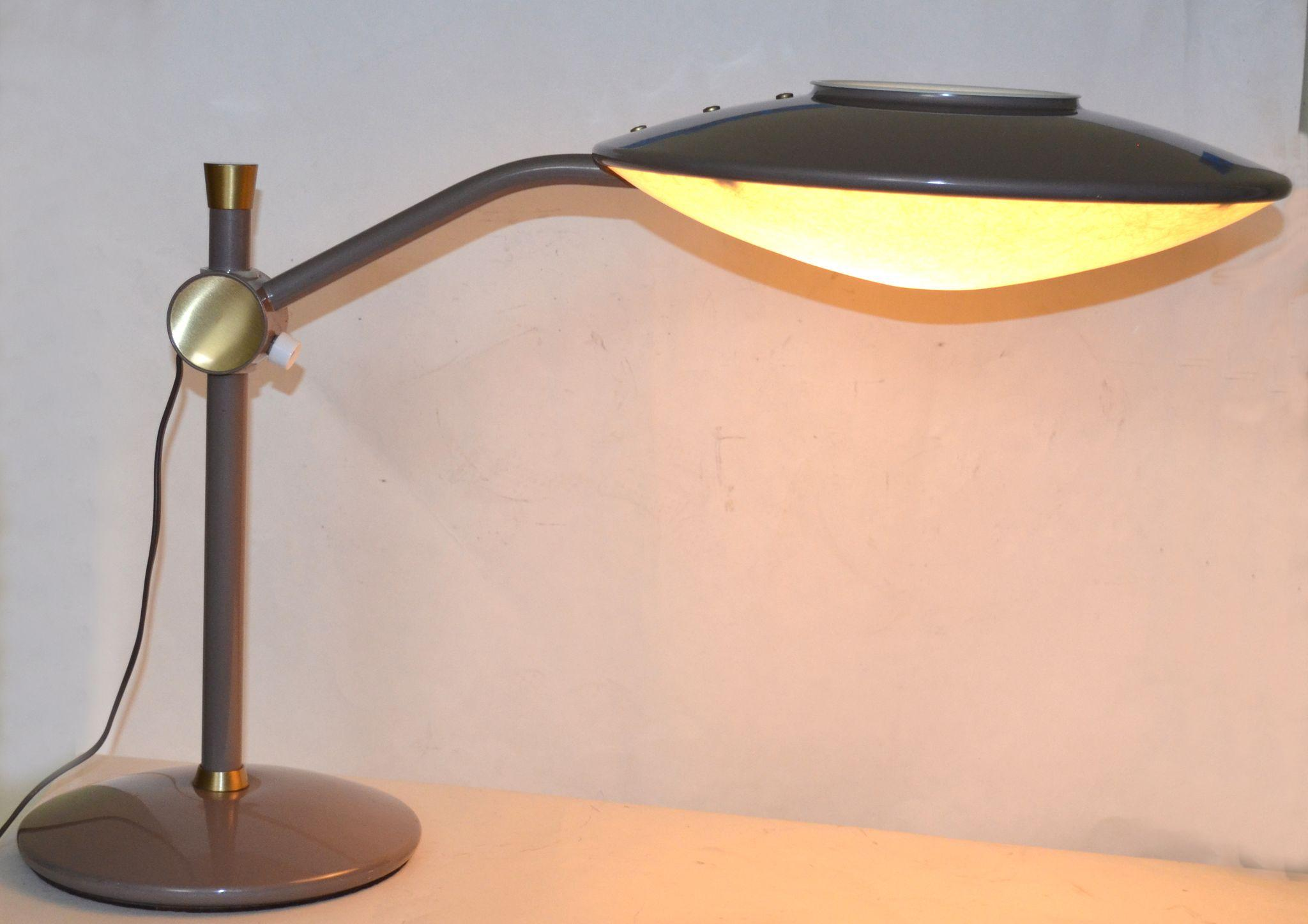 dazor model 2008 mid century modern desk lamp from. Black Bedroom Furniture Sets. Home Design Ideas