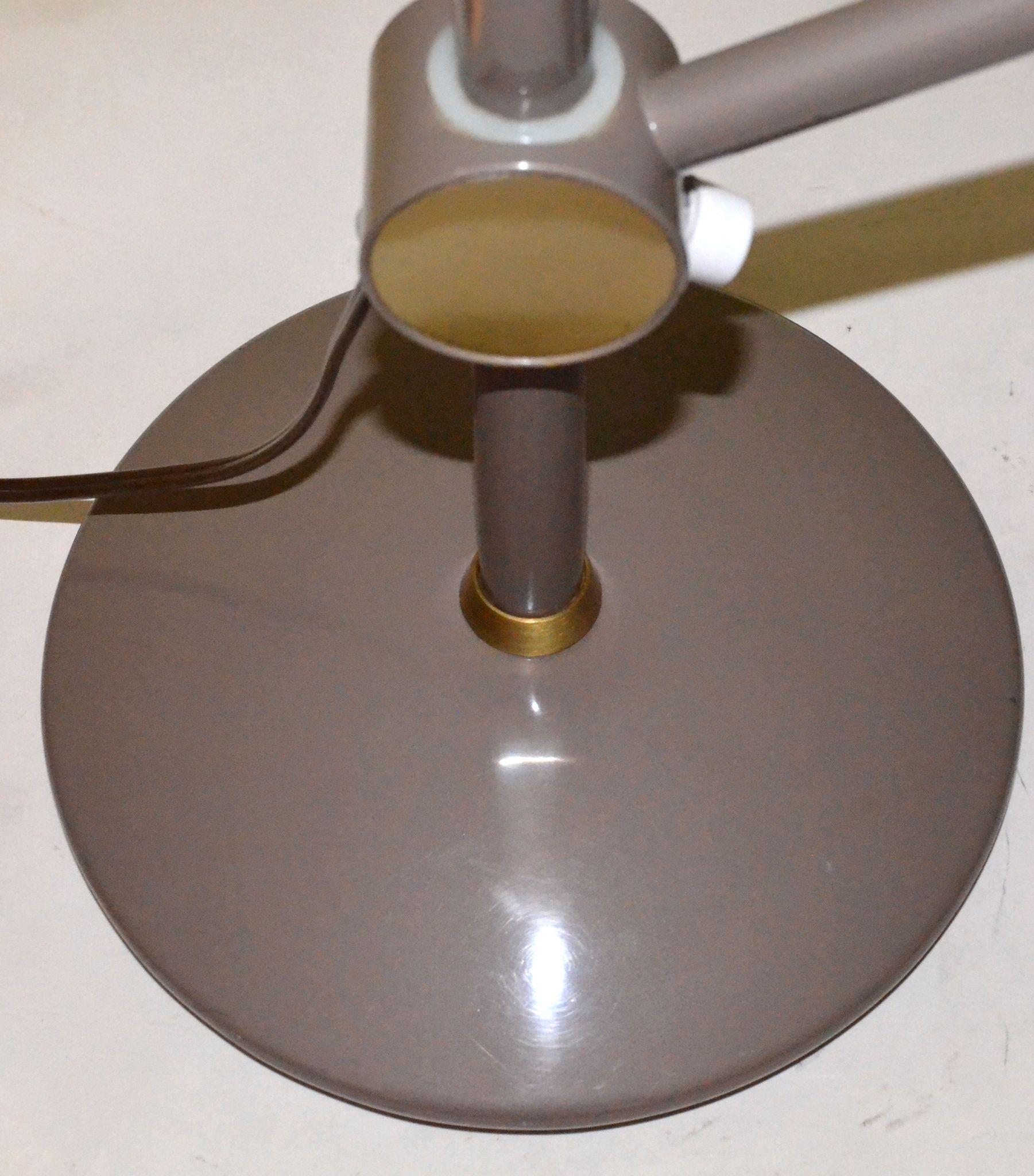 Dazor Model 2008 Mid Century Modern Desk Lamp From