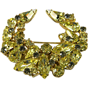 Elegant Kramer Laurel Wreath Brooch