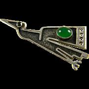 Ecuadoran 900 Silver Condor Pin
