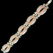 Weiss link Gold tone bracelet- vintage