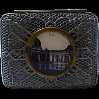 Wien Vienna Imperial Hofburg Palace silver filigree keepsake trinket vanity box