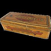 Antique H.D. & H.O. Wills Gold Flake Honey Dew Cigarette Tin- Hard to find.