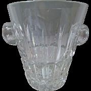 St Saint Louis crystal ice bucket- VINTAGE