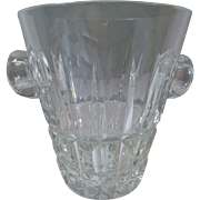St Saint Louis crystal ice bucket- VINTAGE