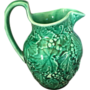 Wedgwood of Etruria and Baralston  grape and foliage green jug pitcher