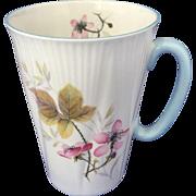 Shelley Bramble cup/mug blue handle