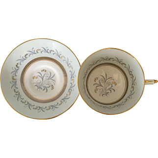 Paragon Golden Bell teacup tea cup and saucer - double warrants