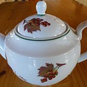 Royal Worcester Evesham Vale large teapot