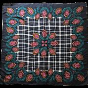 Diane Von Furstenberg silk scarf extra large