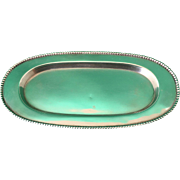 Bead -Birks sterling silver tray