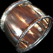 Vintage Birks sterling silver classic napkin ring