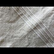 French cotton hand / tea  towel- kitchen dish Antique