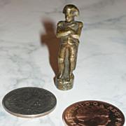 French Fashion Doll/Dollhouse Bronze NAPOLEON  Statue!  BARGAIN!