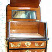 French Fashion Doll Commode Toilette with Original Maison Giroux Label!!!