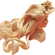 HOLIDAY SPECIAL!  Gorgeous Blonde Wig for French Fashion Doll!
