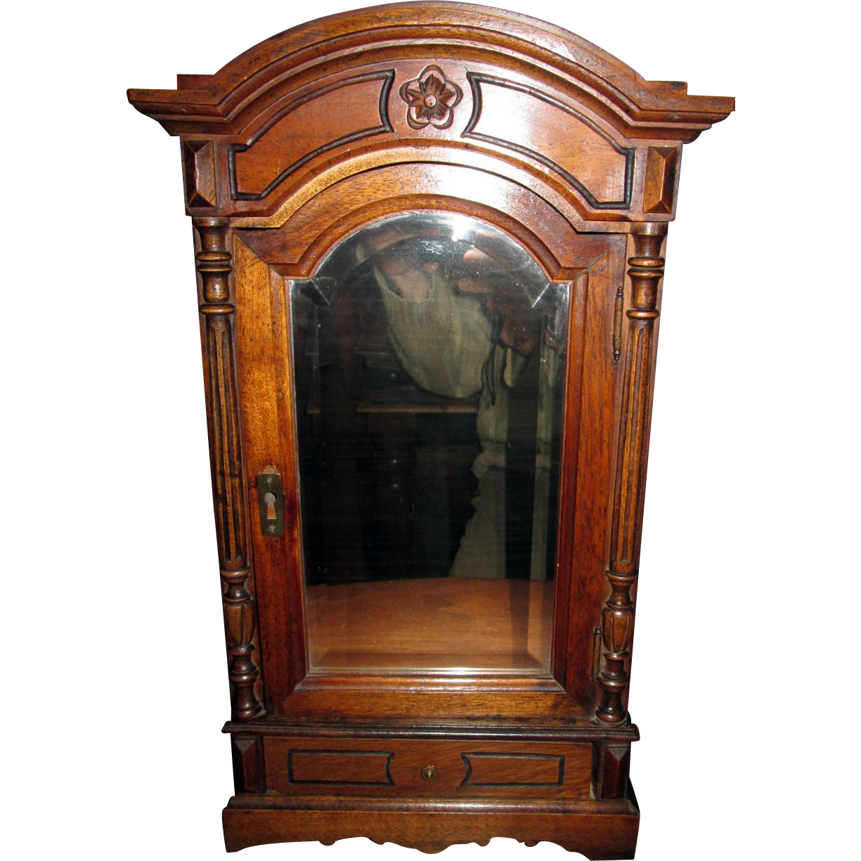 french 1870s empire armoire for your bebe or poupee sold. Black Bedroom Furniture Sets. Home Design Ideas