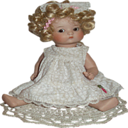 CLEARANCE Just  Me Armand Marseille All-Bisque Artist Repro Doll!