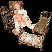 French Miniature Toy Furniture Plus Free Bonus!